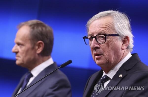"EU 본부가 있는 벨기에의 샤를 미셸 총리도 이날 트위터에 올린 글에서 ""노딜 브렉시트에 대한 대비계획을 강화할 것""이라고 밝혔다. [사진= 연합뉴스]"