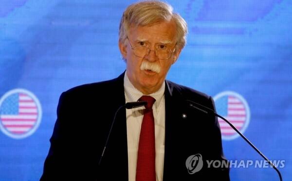 존 볼턴 미국 백악관 국가안보회의 보좌관 [사진=AFP/연합뉴스]